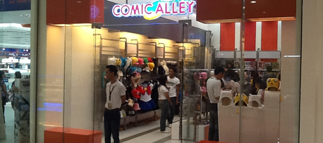 STORES | Comic Alley