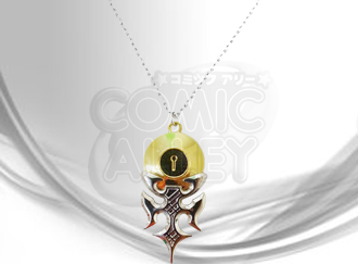 y1176 nisekoi raku ichijou s locket silver necklace